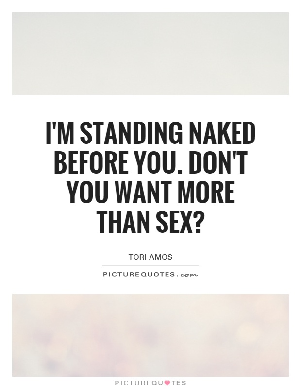Naked women and sex quotes