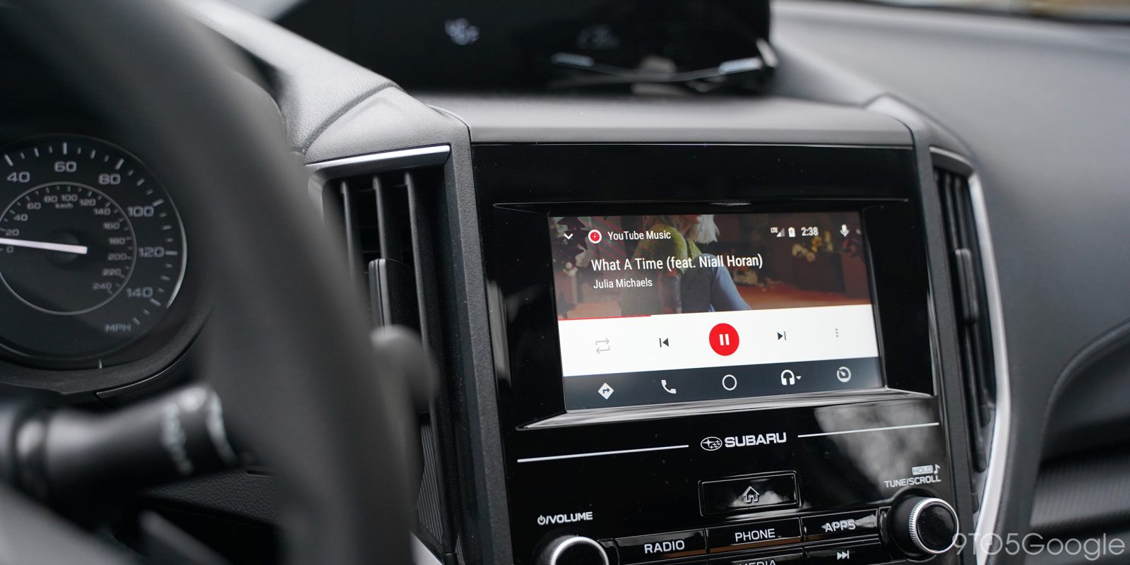 Youtube music and android auto