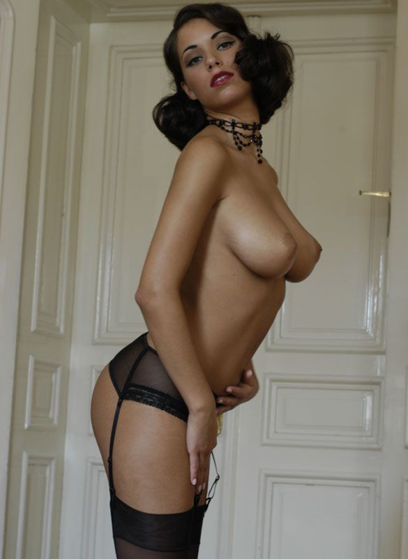 Sexy and naked housemaids